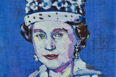 young-Queen-2020-Oil-on-board-165mm-x-135mm