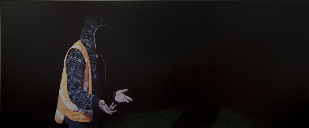 Patron 2012 160 x 384 cm Oil on Canvas