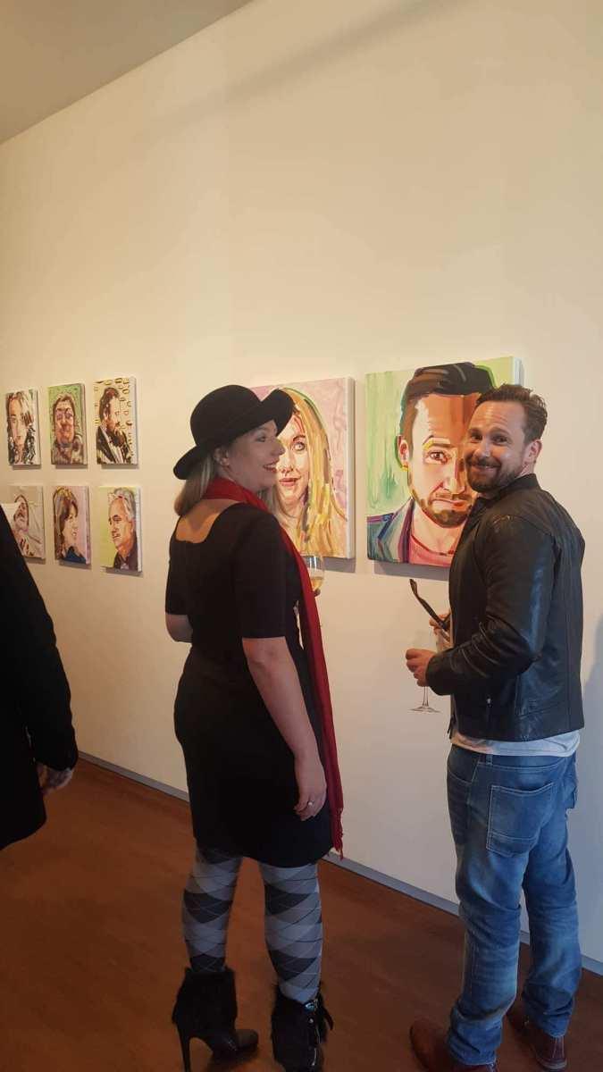 Tramadol portraits. Opening