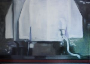 Failed test (low resolution) (2013) Oil on Canvas