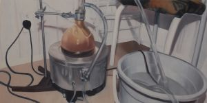 Still Life (2011) 600 x 1200mm Oil on board