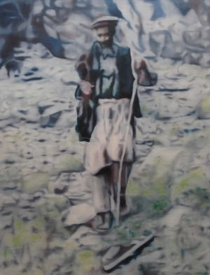 The Good Shepherd (2011) 2000mm x 1600mm Oil on Canvas